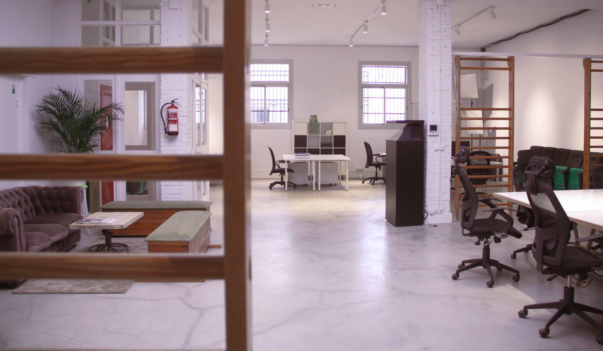 Coworking Area Nauba Poblenou Barcelona Office