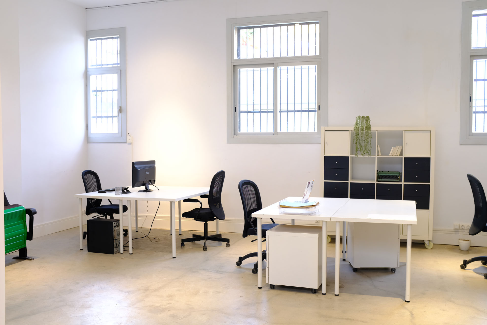 Desks Coworking Area